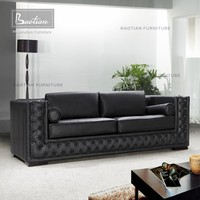 hotel furniture cheap chesterfield leather sofa
