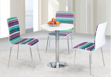 Import ice cream table chairs from guangzhou(FOH-BC39)