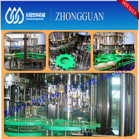 Plastic / glass bottle carbonated soda water manufacturing plant