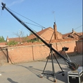 Professional 10m Square Camera Jimmy Jib Cranes For Video Shooting