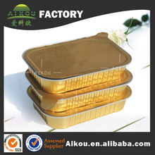 Design hotsell aluminum foil keep covered food tray with factory price