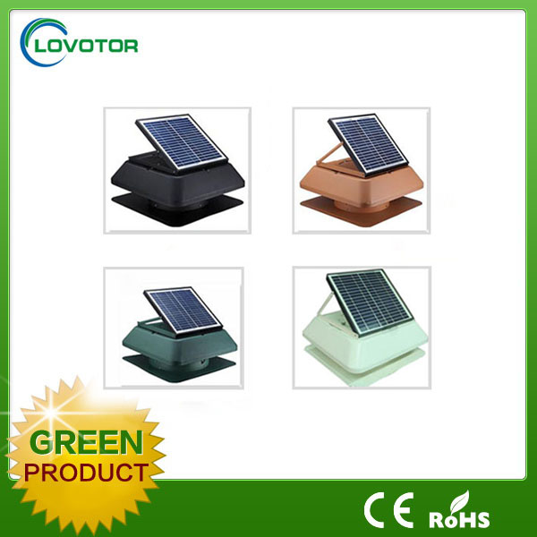 Automatic working greenhouse solar fan for poultry house