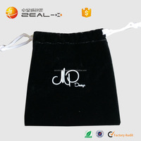 Good Quality Black Watch Bag be recycled Drawstring Manufactured in China