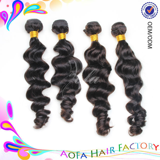 Can be colored 100% natural wavy human bulk braiding hair