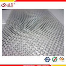 prismatic polycarbonate solid embossed sheet