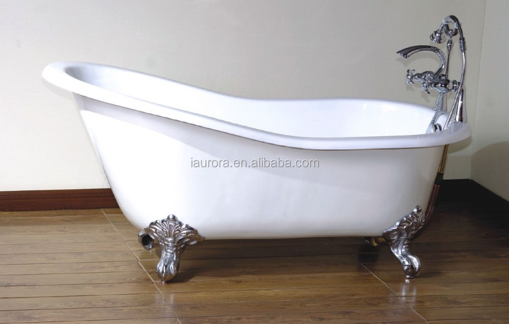 Hot Selling Royal Design Soft Freestanding Acrylic Clawfoot Bathtub Buy Cla