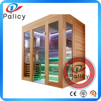 Wholesale Commercial Use Red Cedar Ozone Far Infrared Sauna For Slimming Body