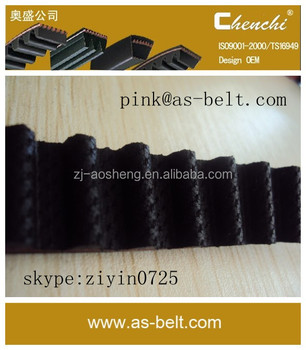 AOSHENG,ROYALINK Car engine driver rubber timing belt 83ZA19 11407-78101 endless belt/ timing rubber belt