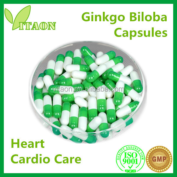 400 mg ISO GMP Certificates and OEM Private Labels Ginkgo Nuts Capsules