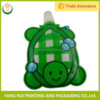 Super quality Colorful spout bag and nozzle bag,spout bag with zipper,450 ml drinking spout bags
