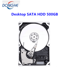 Computer hardware Parts Used Tested Branded Hard Disk 500GB HDD 3.5 Internal for PC