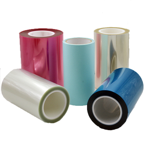 China Supplier silicone coated pet release film liner paper with CE certificates