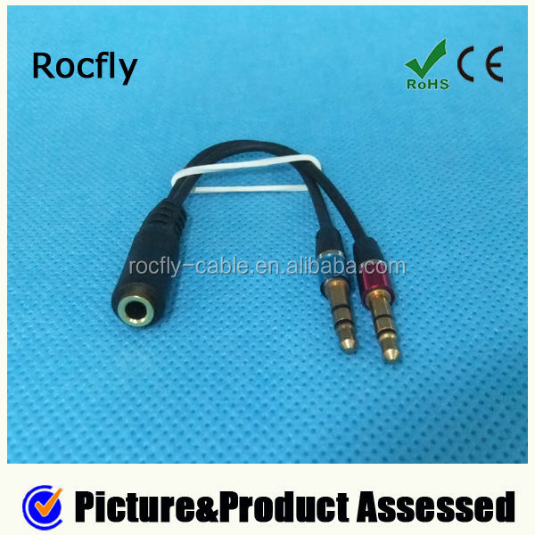 3.5mm Stereo Male To Female Audio Aux Cable For Phone For HTC For Ipod