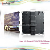 2016 new design LAN/WIFi/3G Led cabinet without cables, HD advertising led video panel 500x500mm led writing board