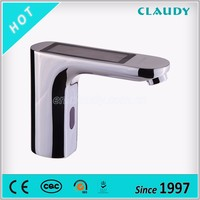 High Quality New Style Energy Saving Solar Power CUPC Sensor Faucet