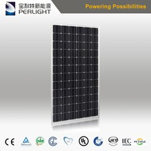 Perlight black back sheet 330w solar panel from 10kw solar panels systems
