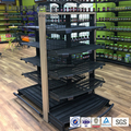 Customized modern advertising shelf supermarket display