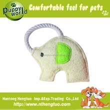 Hot sale loofah ring jw pet toy