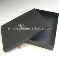 Ridged paper shoes packaging box