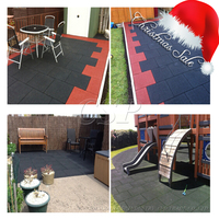Corrosion-resistant rubber floor mats/recycled rubber patio pavers