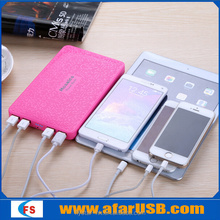 2015 Hot Selling portable power bank mobile phone charger Real 20000mAh Charge for cell phone 8 times