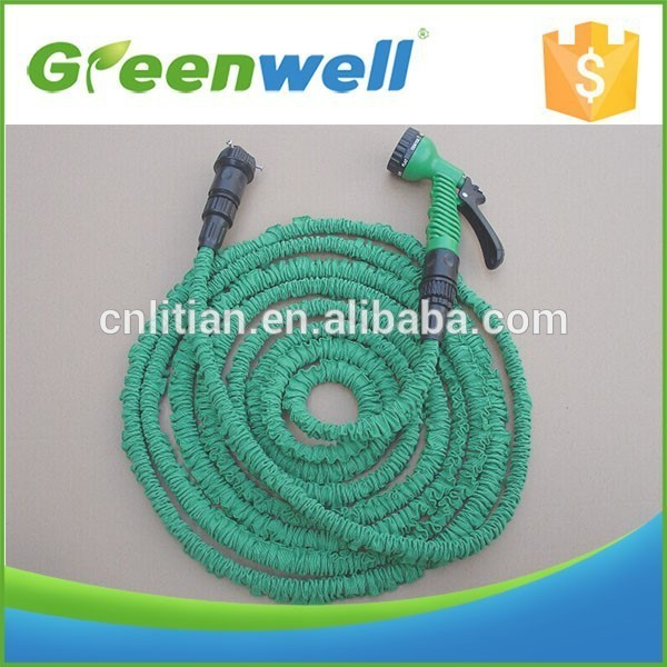 With 10 years exporting experience 25/50/75/100FEET korea japan hose snake hose magic expandable hose