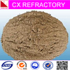 Mortar type low cement refractory cement