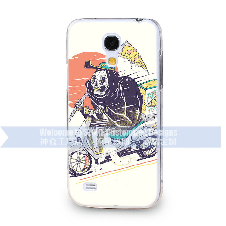 brand phone case customized human skeleton design mobile cover For Samsung S4 mini I9190 case Guangzhou manufacturer