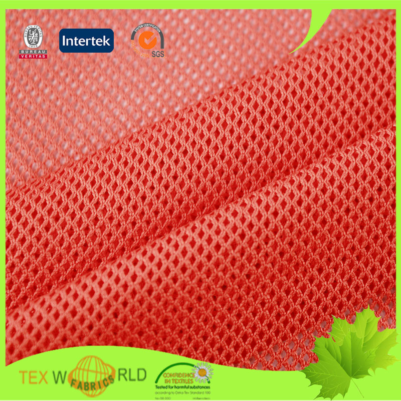 Sport Shoes Mesh Polyester Knit Fabric For Chairs Covers Textile