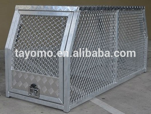 Super Secure Large Folding Commercial Customized Aluminum Dog Pet Cage