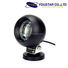 Auto lighting 20W reflector driving work lamp, round 4x4 motorcycle front driving lamp