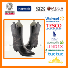 high heels women rubber rain boots riding boots for ladies wholesale