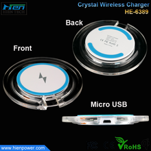 Mobile Accessories Qi Wireless Charger Pad Round Wireless Charger for lenovo
