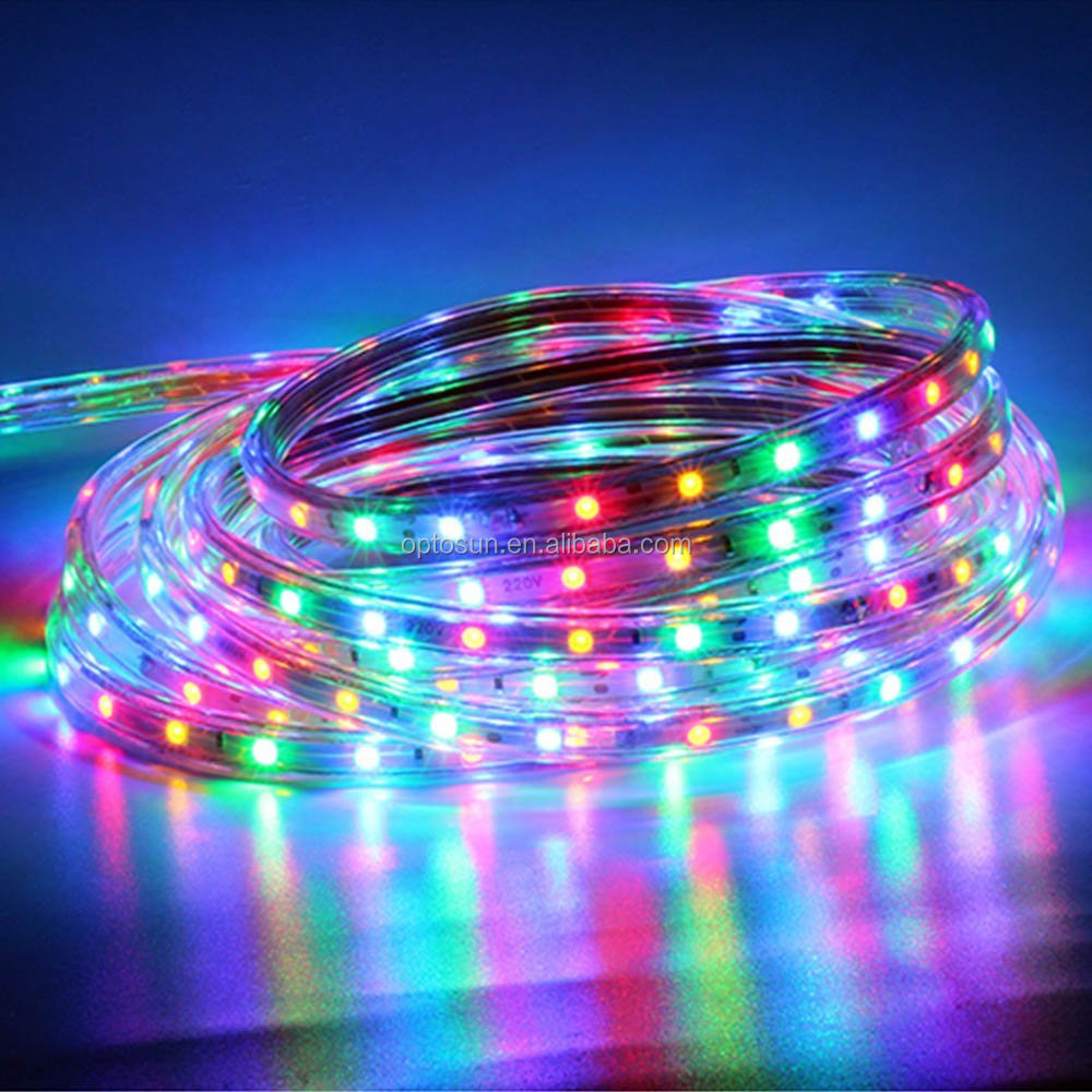 waterproof rgb led rope light wholesale flexible color changing. Black Bedroom Furniture Sets. Home Design Ideas