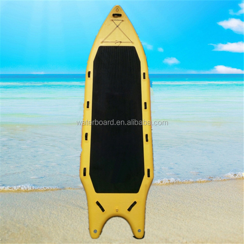 fish tail durable air nflate paddle sup paddle board