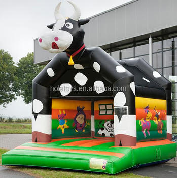 New happy milch cow bouncy castle/inflatable bouncer/inflatable bouncer for sale