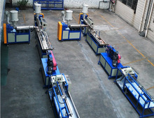 Cheap price strict test pvc edge banding extrusion line