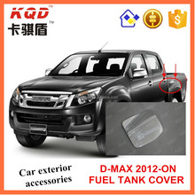 High quality wholesale price ABS Chrome gas/fuel tank cover for d max 4*4 accessories Trade assurance supplier