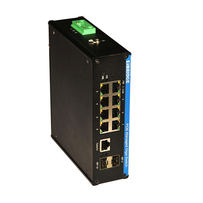 <strong>network</strong> 8-port 10/101000M poe industrial grade switch