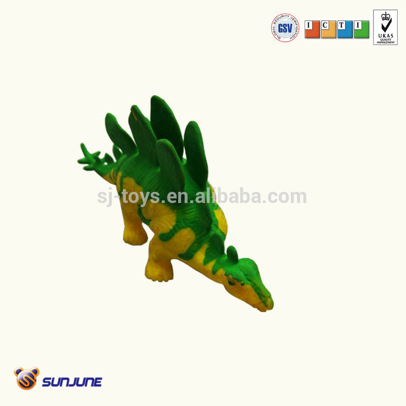 Animal planet 20cm long TPR-color vary dragon toys