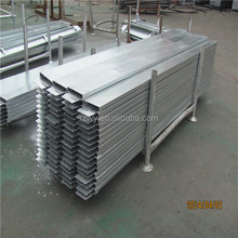 ringlock scaffolding steel plank/Metal Deck /steel toe board