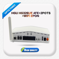 Cheap price gpon fiber optic 4fe voip wifi onu set top box with 2fxs