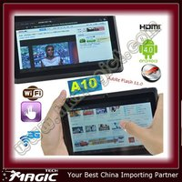 A10 1.2 GHz capacitive screen 7inch tablet pc android 4 0