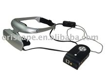 3D Glasses for PC and AV/3D High Quality Video Eyewear with 56inch virtual screen for 3d game and movie