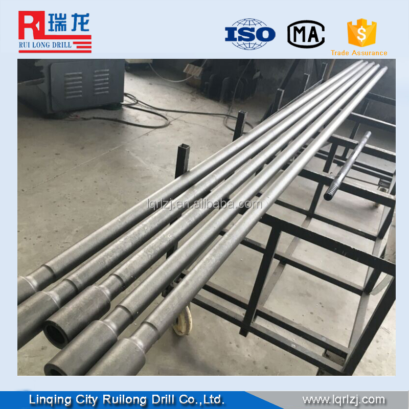 R25,R32 ,R38,T38,T45,T51 drifting and tunneling rock drill rod