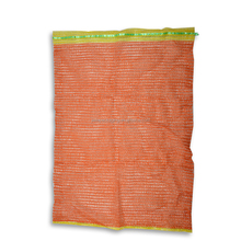 Cheap onion mesh packing bags, raschel mesh drawstring bags for sale