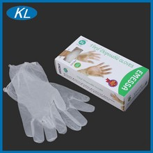 China manufacturer of cheap atoxic one-time use disposable vinyl gloves