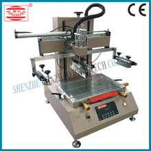 Semi-automatic Small Flat Screen Printing Machine with Good Price for Plastic Bottle Cup