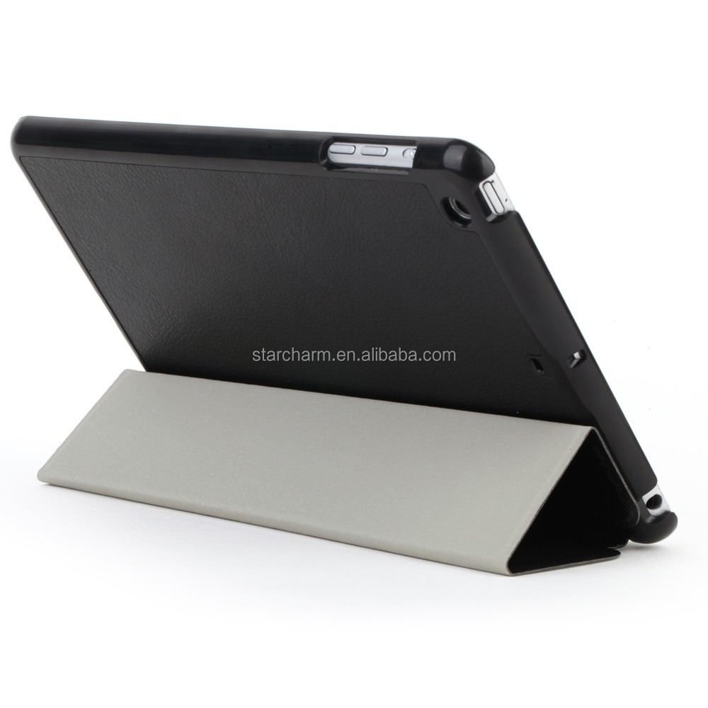 Leather Stand Case for iPad 2/3/4 , New Style Leather Case for ipad 2/3/4