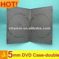 5mm pp blank kids slim double dvd box